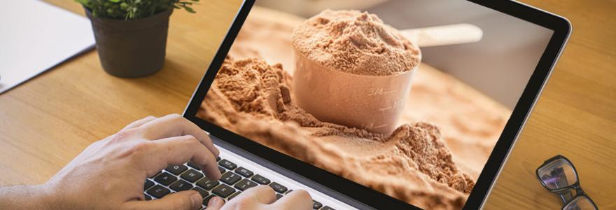 Nutrition sportive en ligne