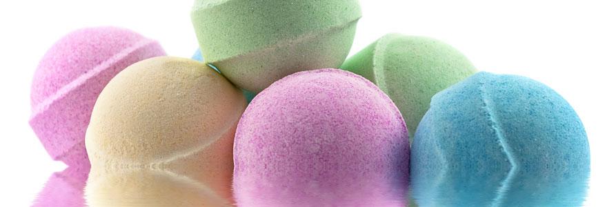 Bienfaits des boules de bain