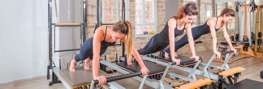 se préparer pour un cours de Pilates